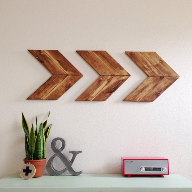 DIY Wooden Wall Art  15 Extremely Easy DIY Wall Art Ideas For The Non Skilled