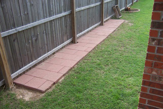 Dog Proof Backyard  14 best Retaining wall w fence images on Pinterest