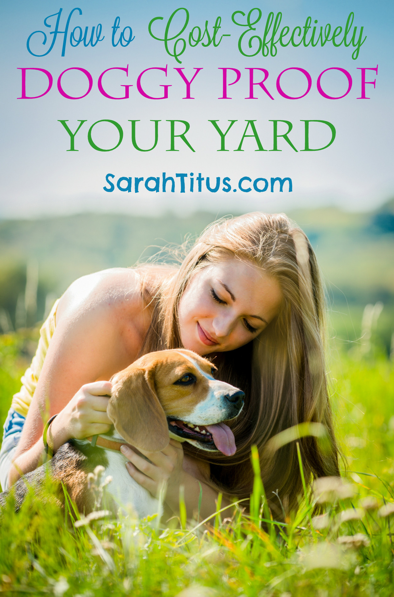 Dog Proof Backyard  How to Doggy Proof Your Back Yard Sarah Titus