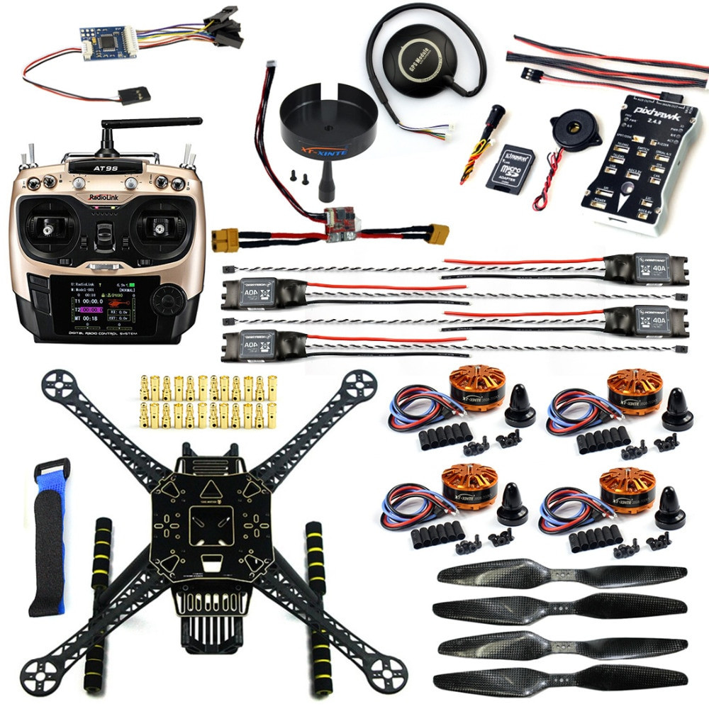Drone DIY Kit  DIY FPV Drone Kit Welded S600 4 axis Aerial Quadcopter
