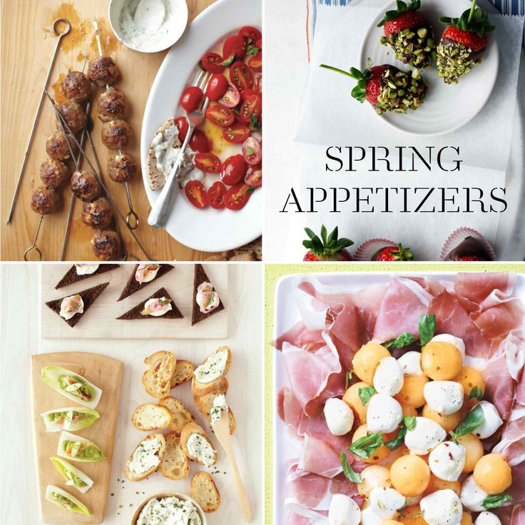 Easter Appetizers Martha Stewart  Our Favorite Spring Appetizers