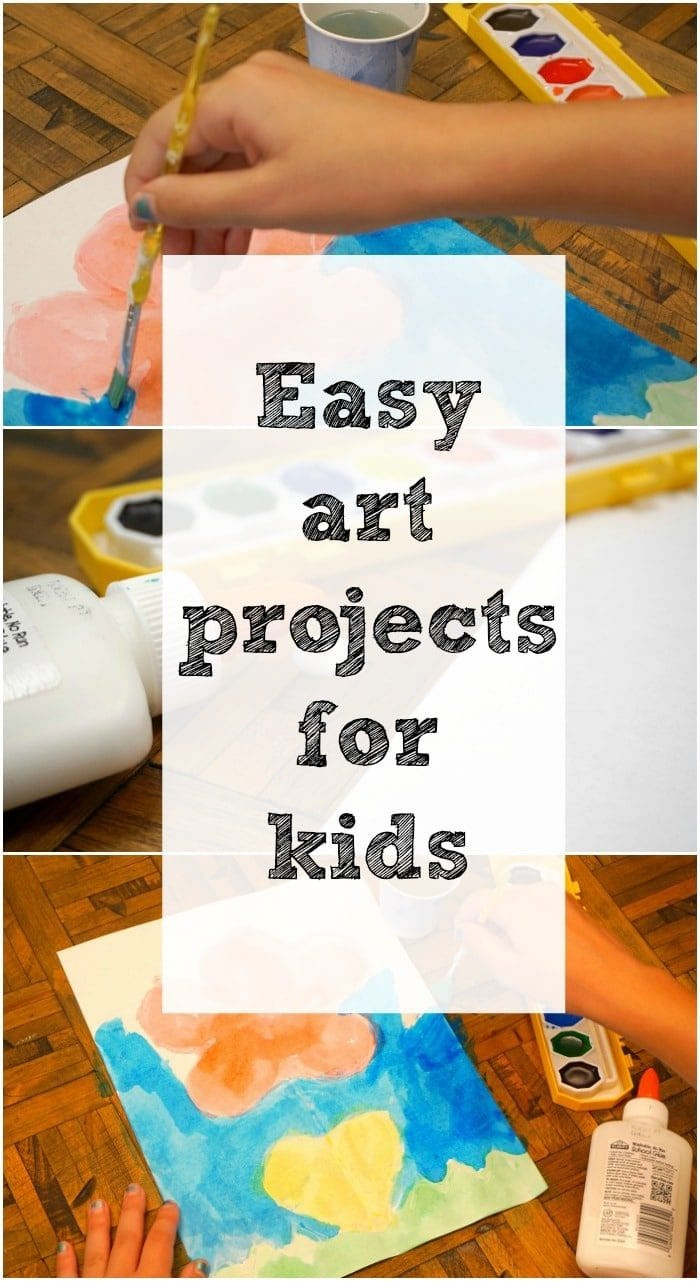Easy Arts And Crafts For Toddlers  Art and Craft Ideas for Kids · The Typical Mom