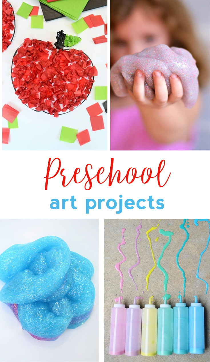 Easy Arts And Crafts For Toddlers  Preschool Art Projects Easy Craft Ideas for Kids all