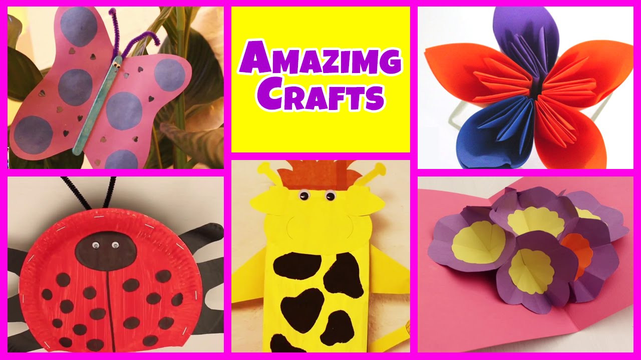 Easy Arts And Crafts For Toddlers  Amazing Arts and Crafts Collection