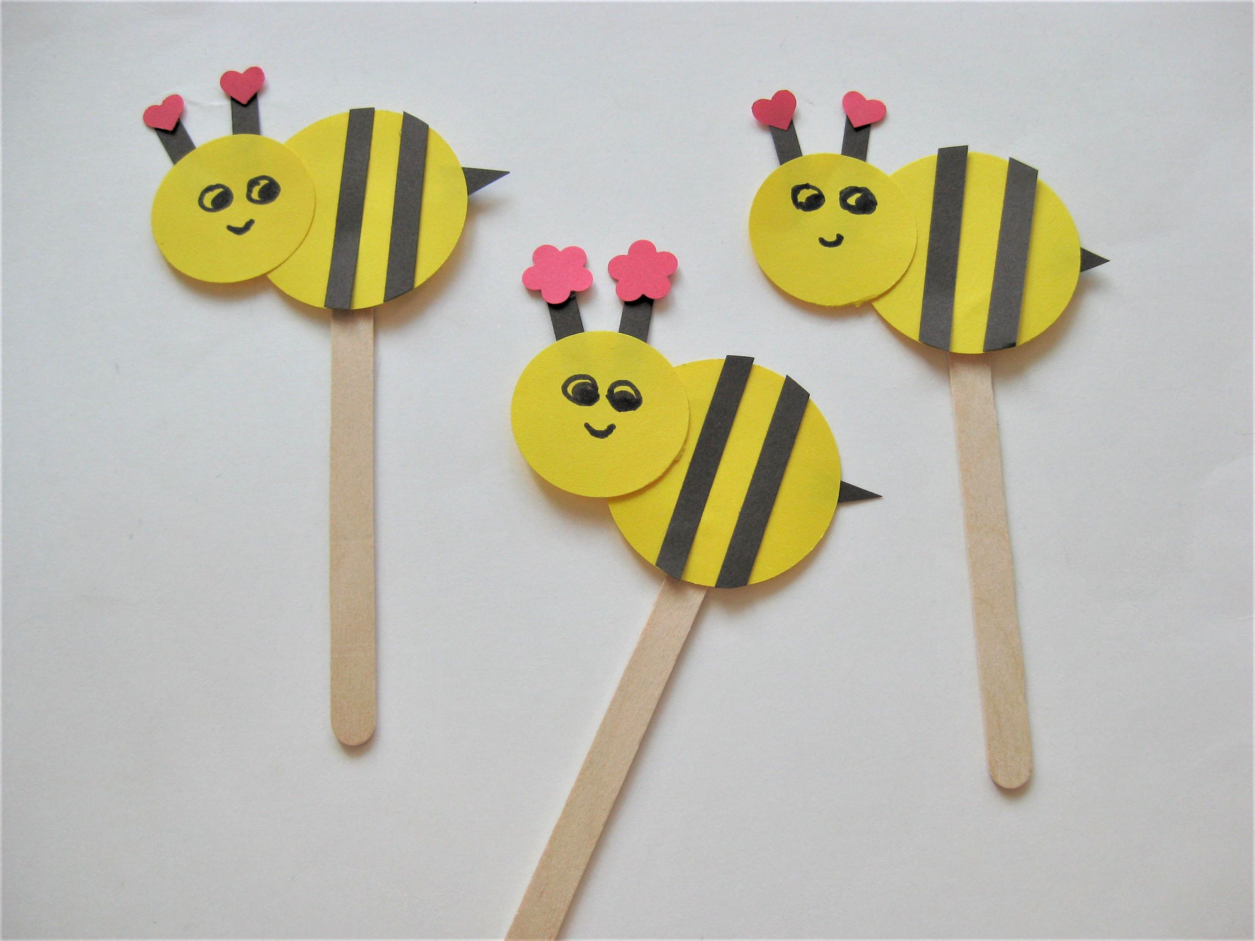 Easy Arts And Crafts For Toddlers  Bee Craft for Kids
