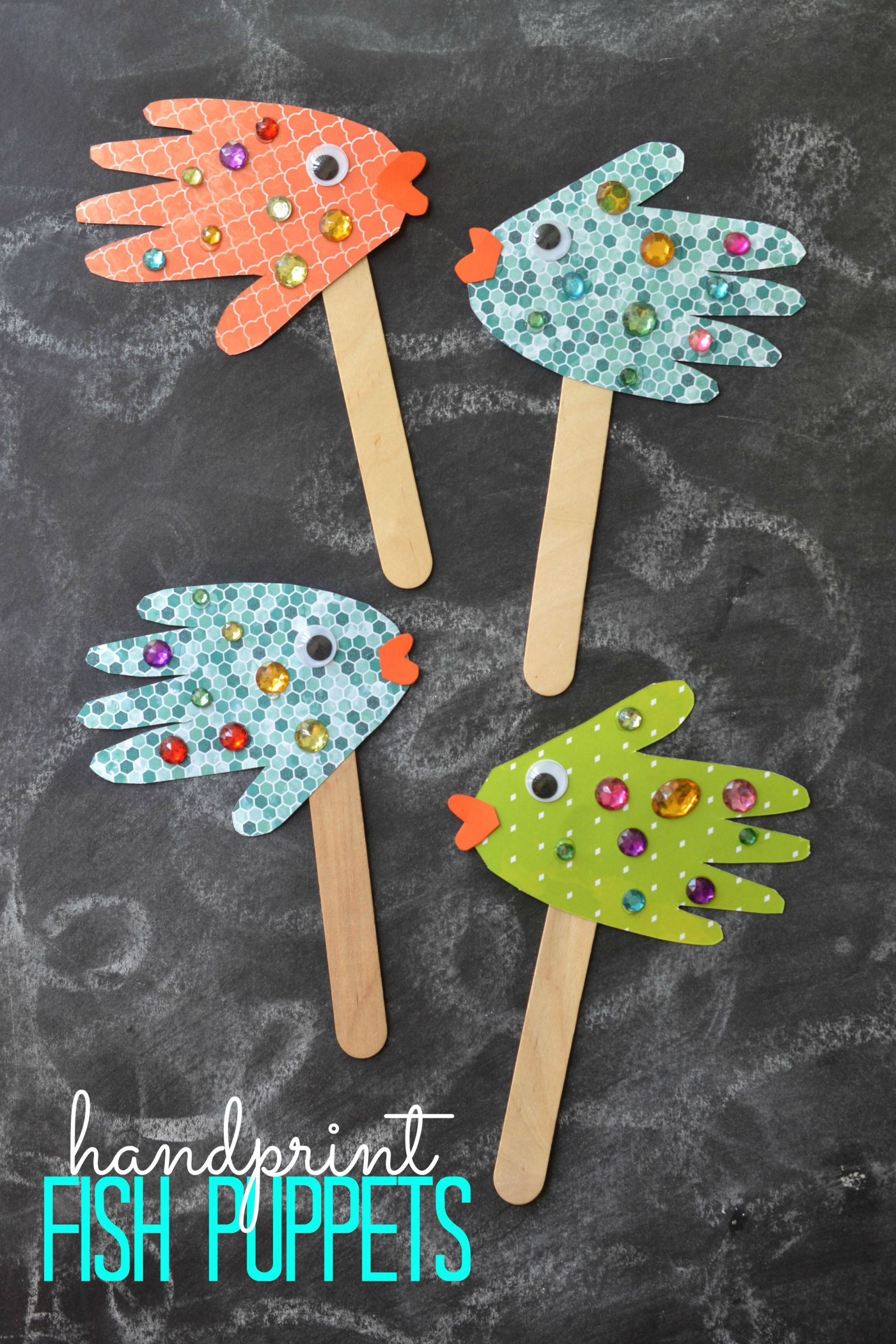 Easy Arts And Crafts For Toddlers  15 DIY Fairy Tale Crafts That You And Your Little es