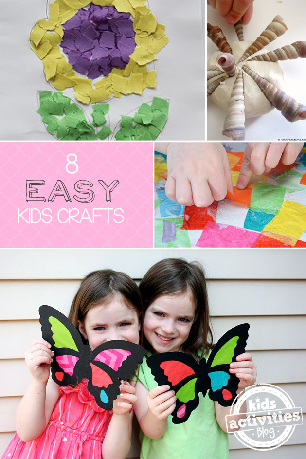 Easy Arts And Crafts For Toddlers  Easy Crafts for Kids Have Been Released Kids Activities