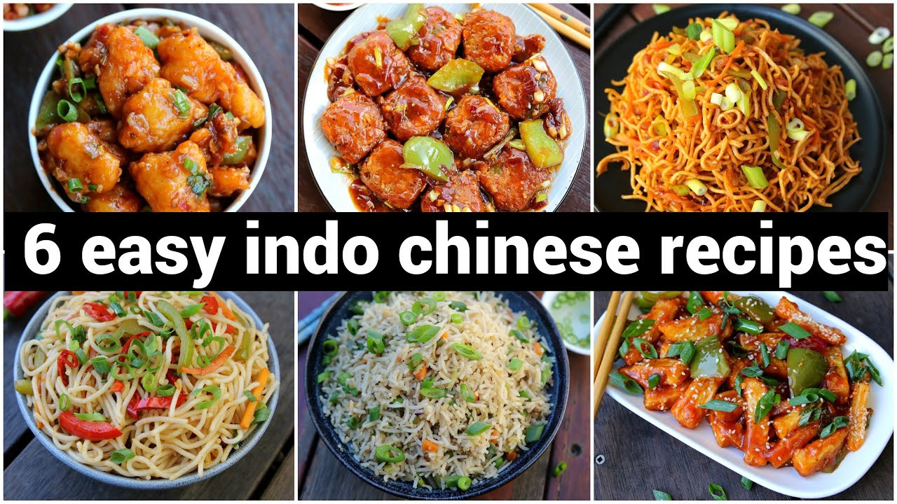 Easy Chinese Food Recipes  6 tasty & easy indo chinese recipes