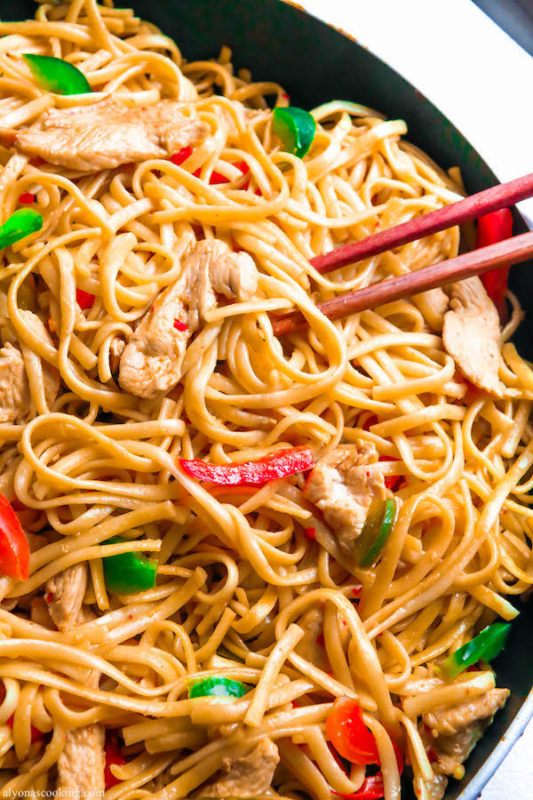 Easy Chinese Food Recipes  EASY Chinese Noodles Recipe