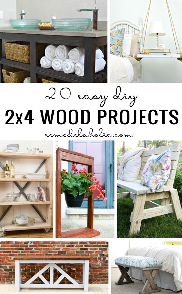 Easy DIY Wood Projects  Remodelaholic