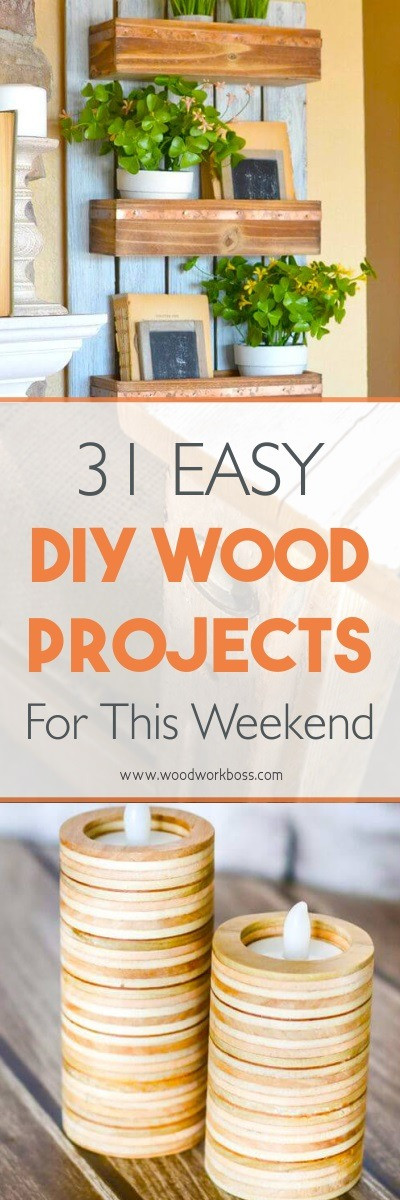 Easy DIY Wood Projects  31 Best Woodworking Projects For Beginners
