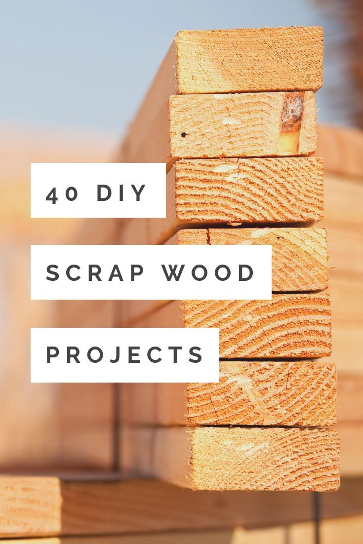 Easy DIY Wood Projects  40 DIY Scrap Wood Projects You Can Make The Country Chic