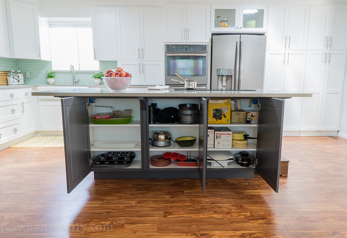 Extra Storage Cabinet For Kitchen  Kitchen Hacks to Organize and Make Your Kitchen Flow Better