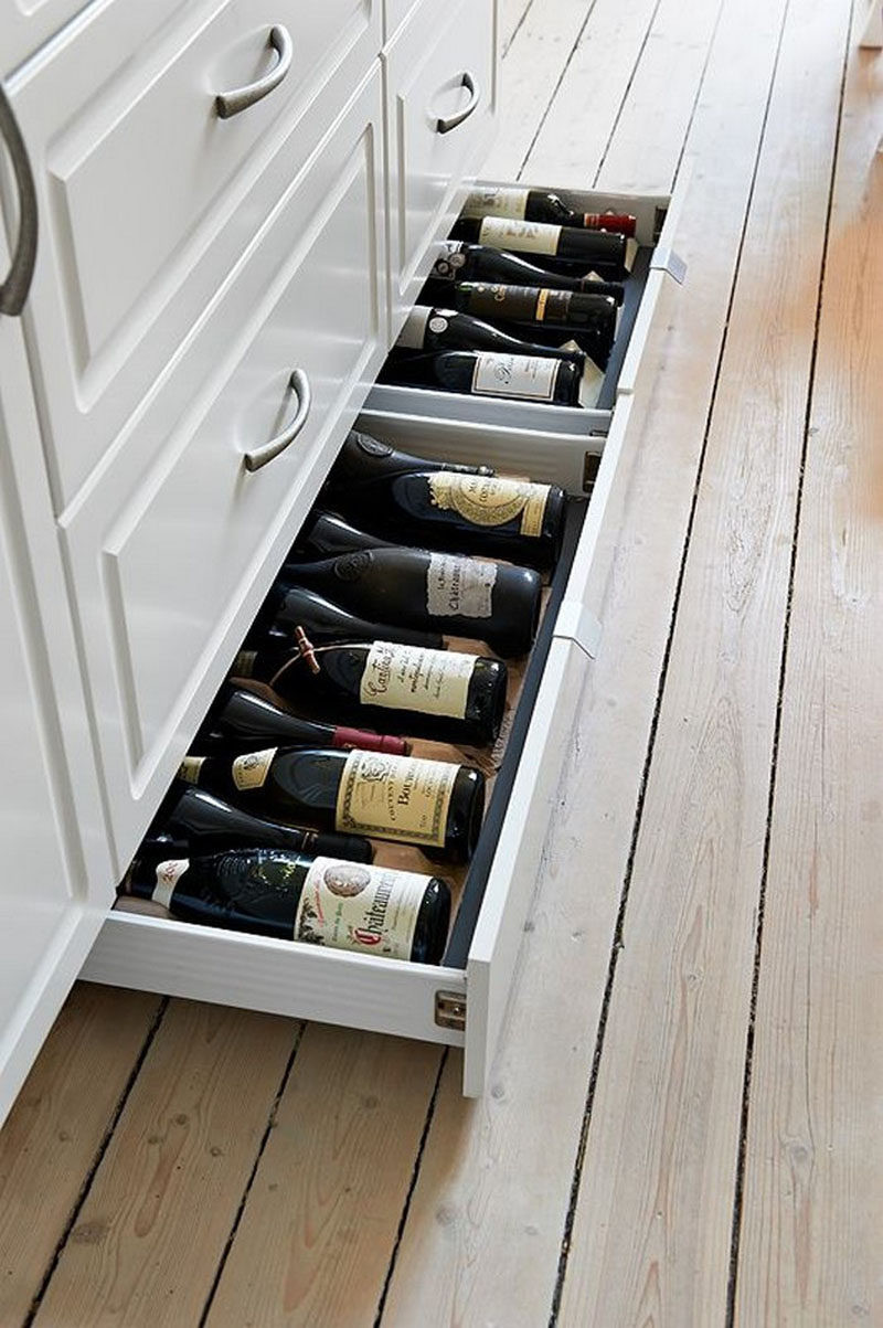 Extra Storage Cabinet For Kitchen  Kitchen Design Idea Include Toe Kick Drawers In Your