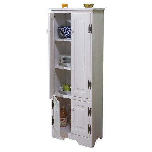 Extra Storage Cabinet For Kitchen  TMS Pine Extra Tall Cabinet & Reviews
