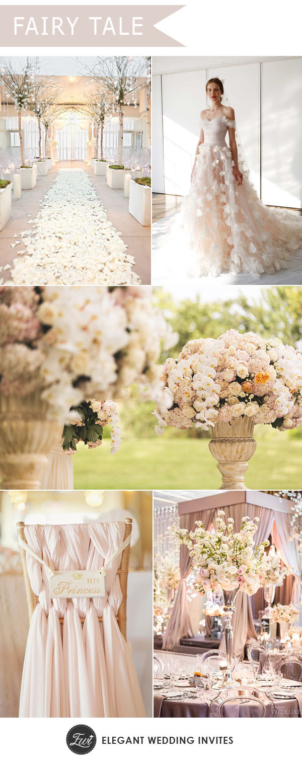 Fairy Wedding Theme  Stunning Wedding Concept Decor With Gorgeous Designs For