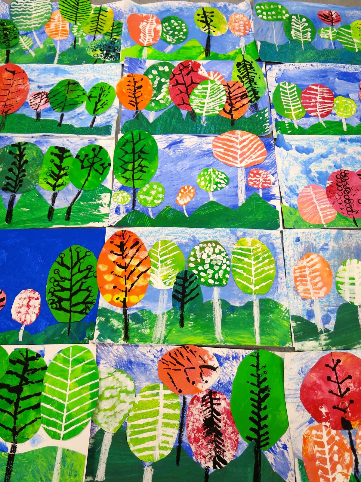Fall Art Project For Kids  Cassie Stephens In the Art Room Ten Fave Fall Projects
