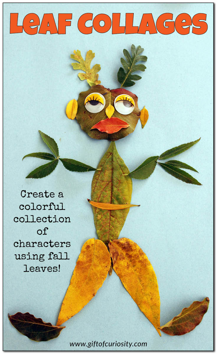 Fall Art Project For Kids  Fall art project for kids Leaf collages Gift of Curiosity