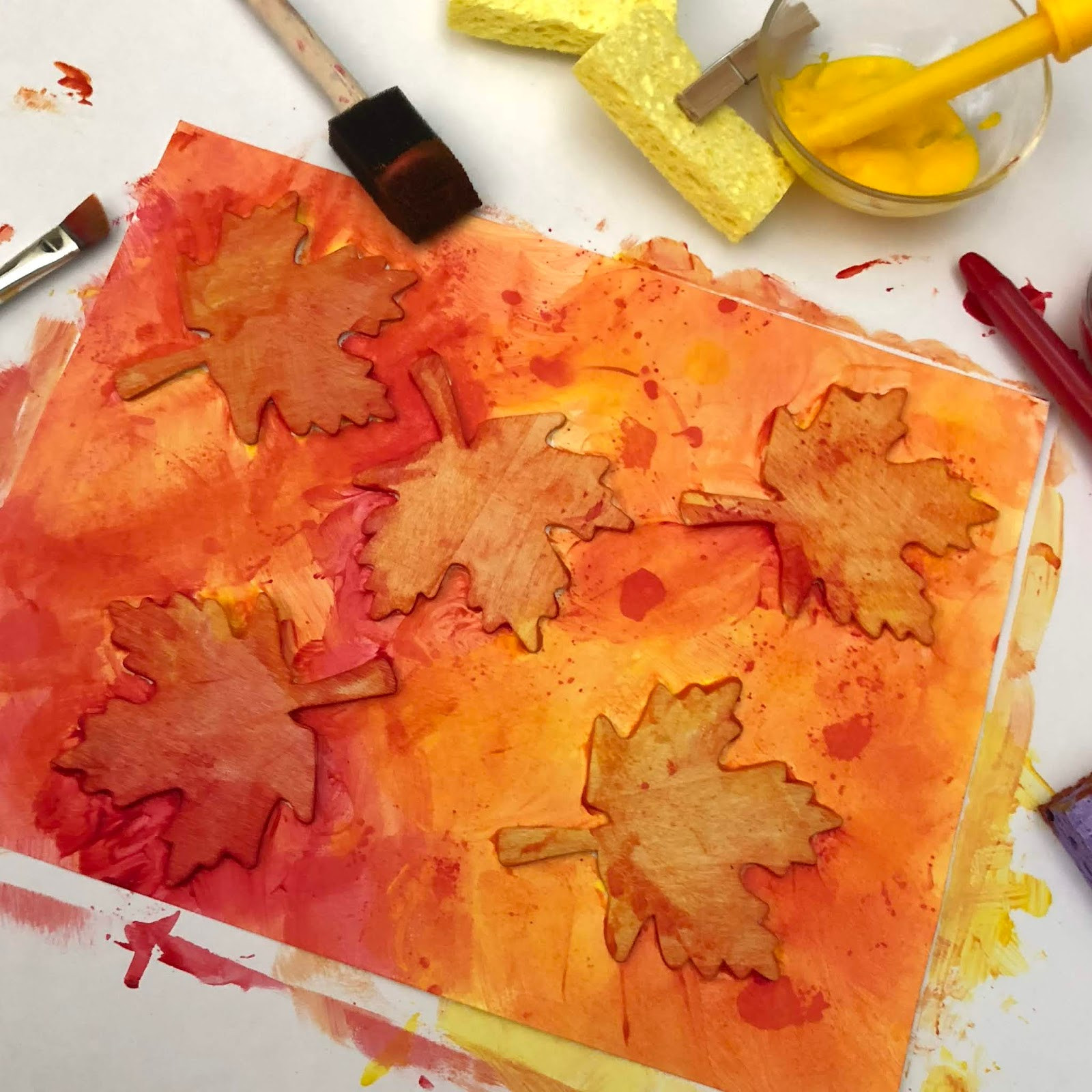 Fall Art Project For Kids  Fun Fall Art Project for Kids