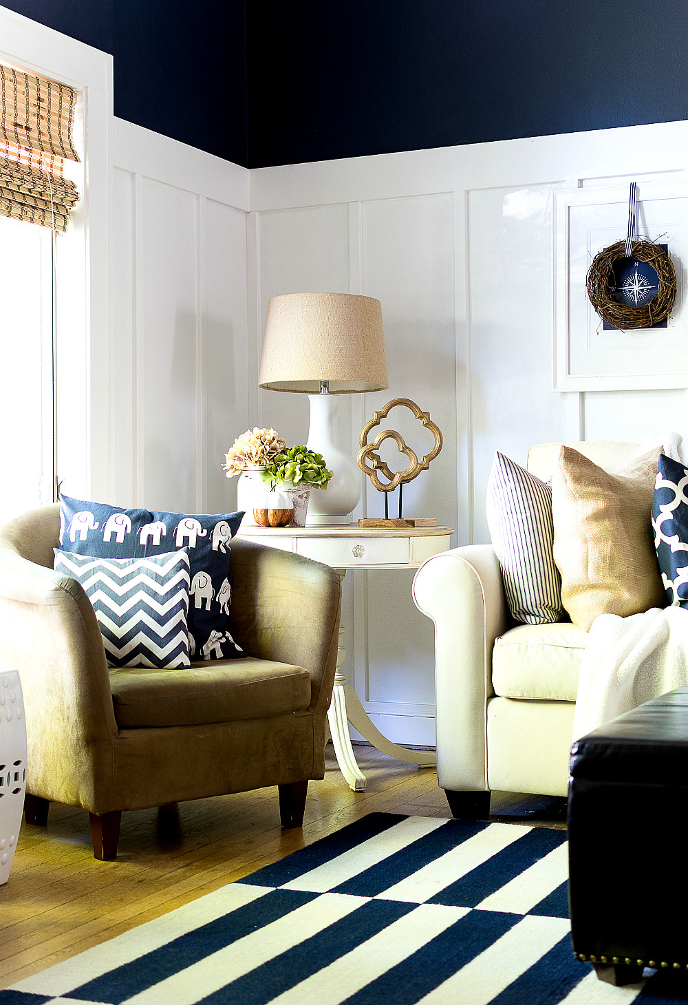 Fall Living Room Decorations  Fall Home Tour Living & Dining Room It All Started With