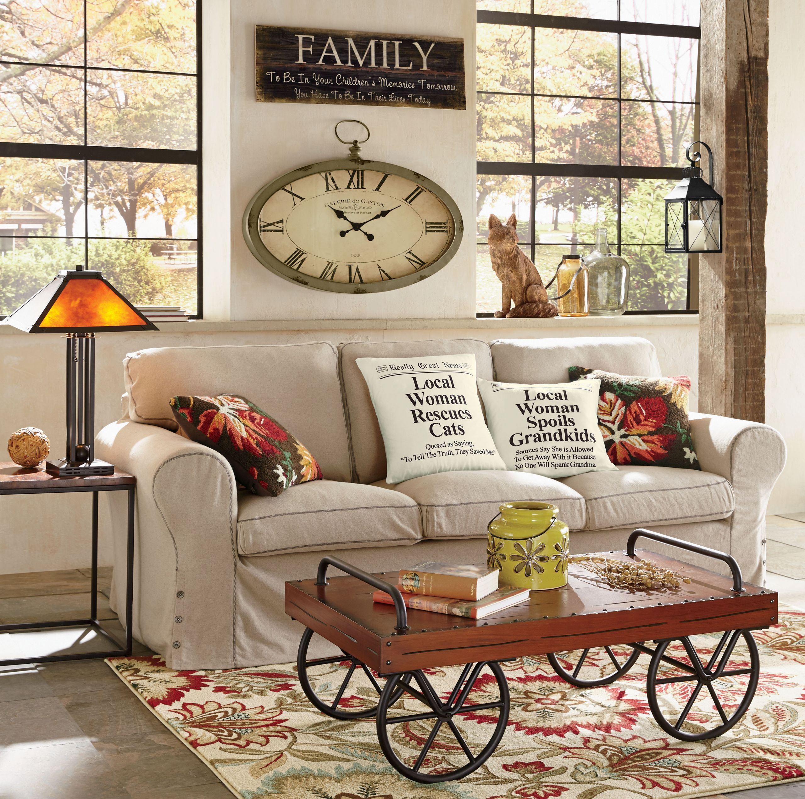 Fall Living Room Decorations  Living Room Decorating Ideas for Fall