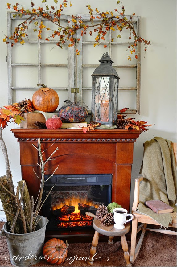 Fall Living Room Decorations  Decorating My Living Room for Fall