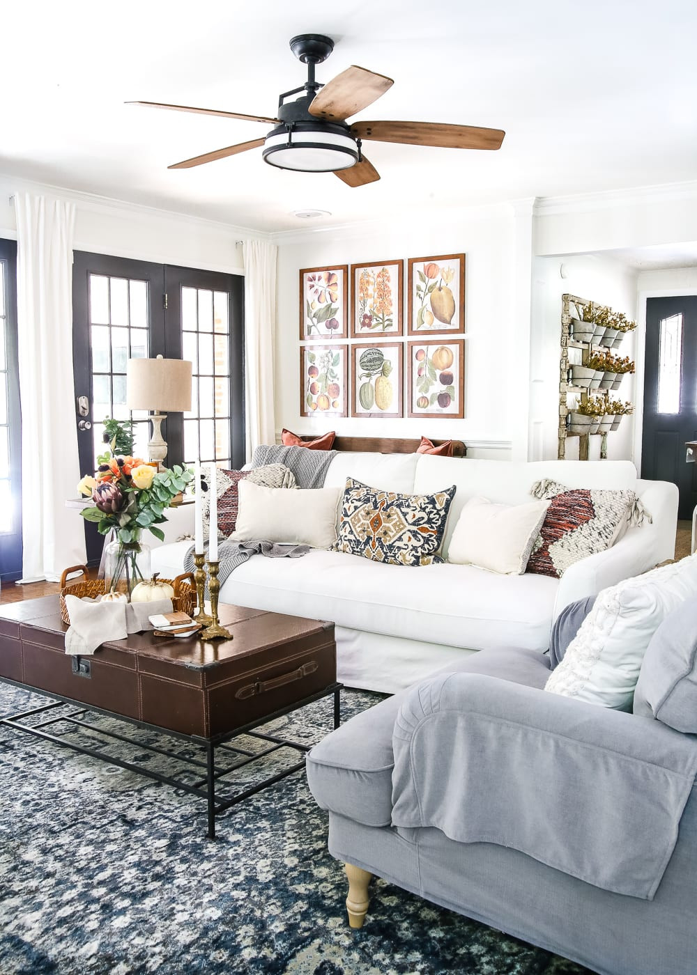 Fall Living Room Decorations  8 Fall Decorating Tips for a Bud and Fall Home Tour