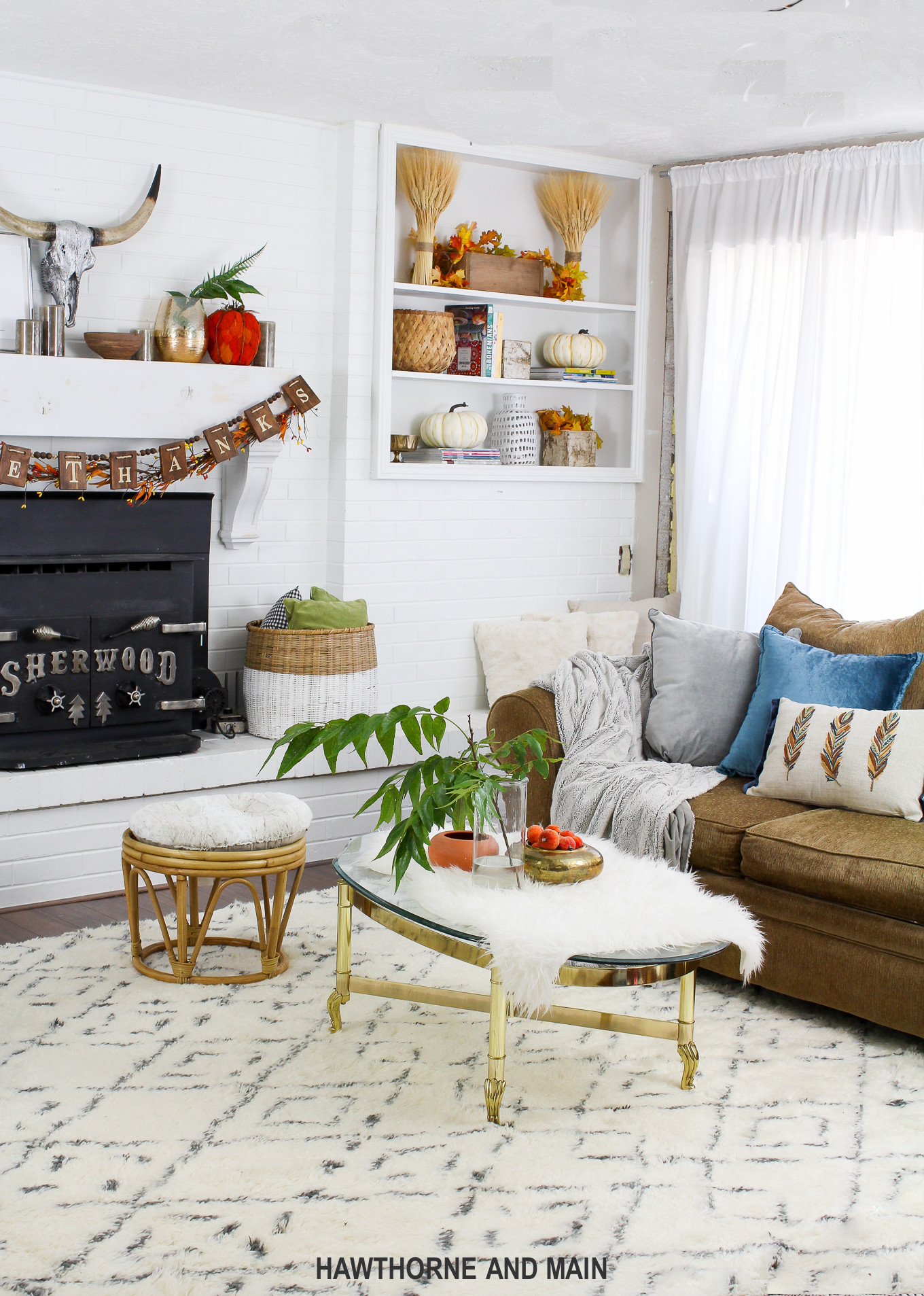 Fall Living Room Decorations  Fall Living Room Refresh – HAWTHORNE AND MAIN