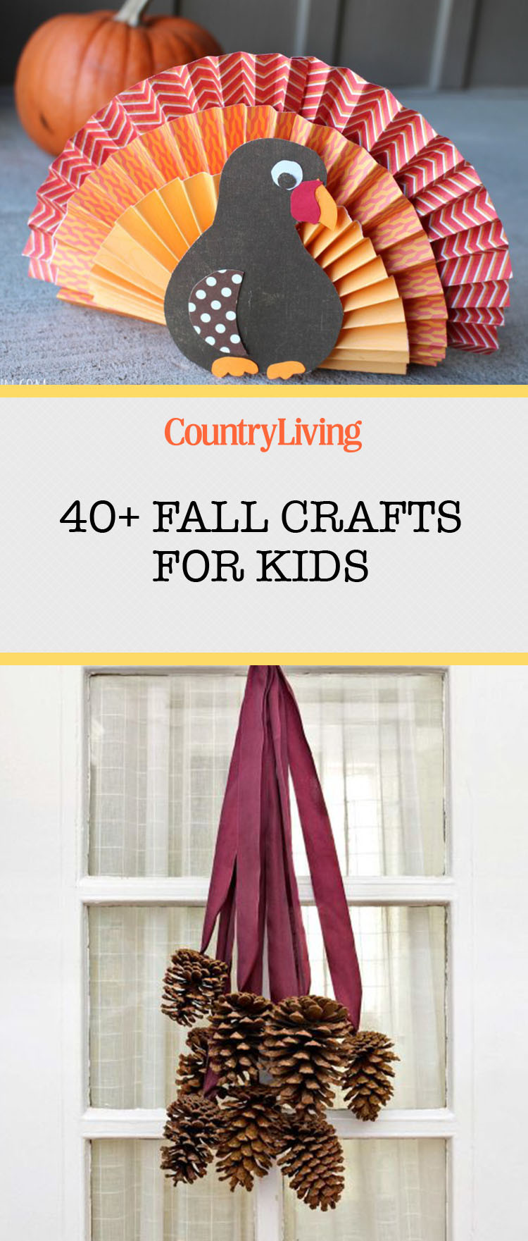 Fall Toddler Craft Ideas  45 Fall Crafts For Kids Fall Activities and Project