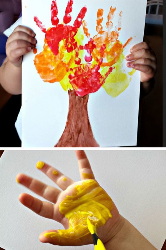 Fall Toddler Craft Ideas  Fall Crafts For Kids of All Ages Fun and Easy Fall