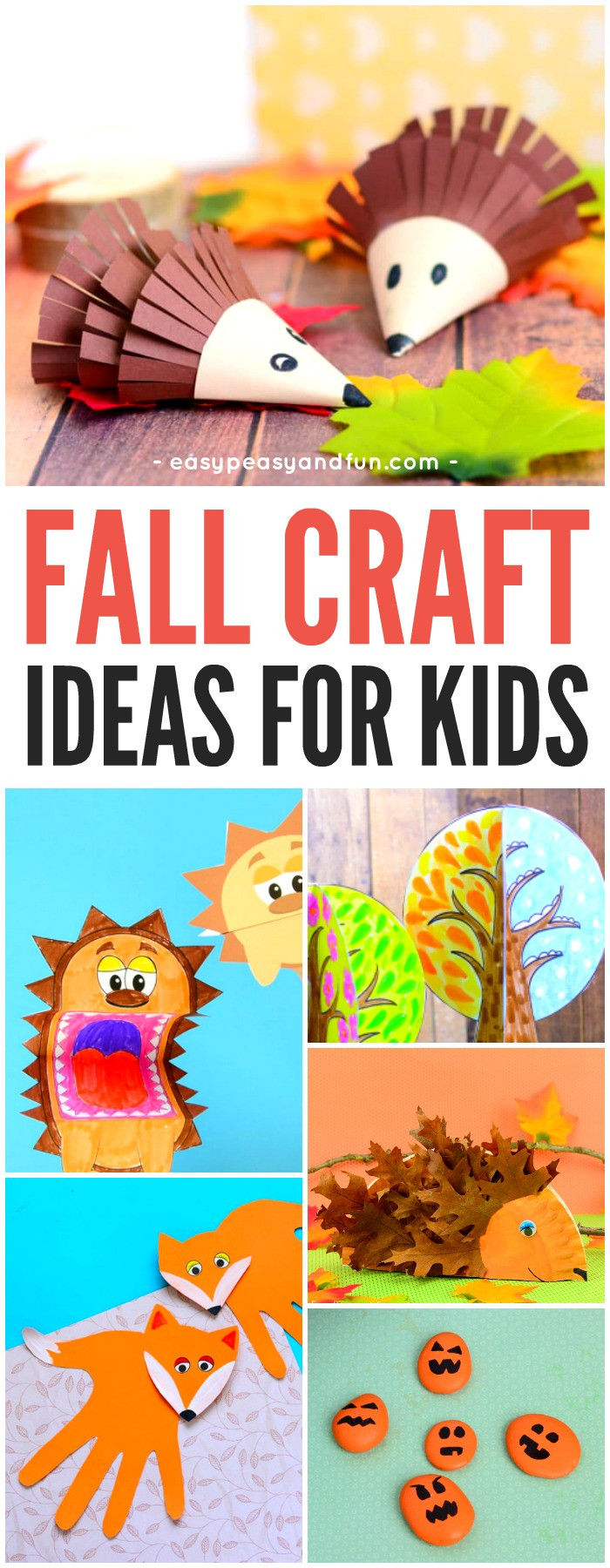 Fall Toddler Craft Ideas  Fall Crafts For Kids Art and Craft Ideas Easy Peasy