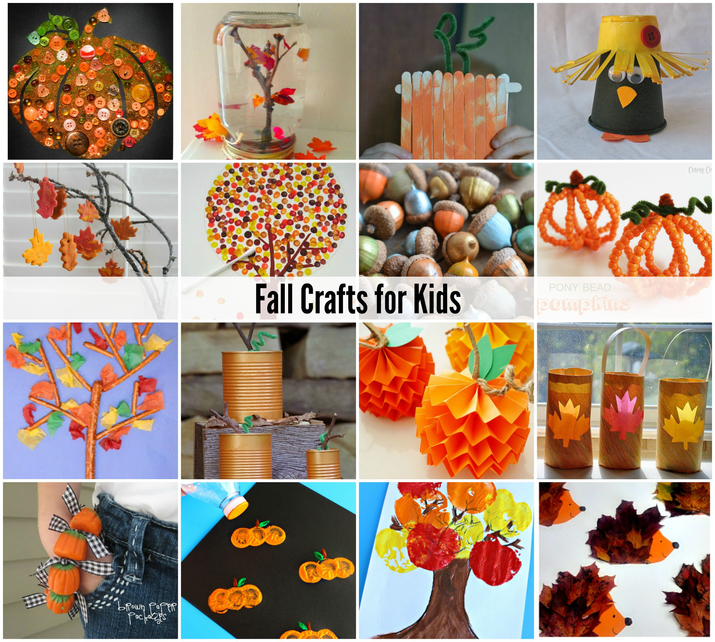 Fall Toddler Craft Ideas  Fall Crafts for Kids The Idea Room