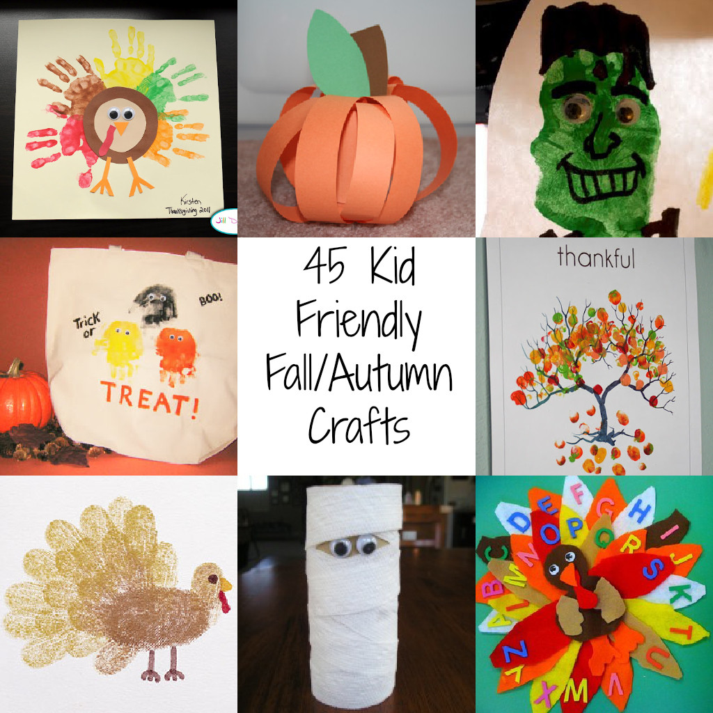 Fall Toddler Craft Ideas  45 Kid Friendly Fall Autumn Crafts A Spectacled Owl