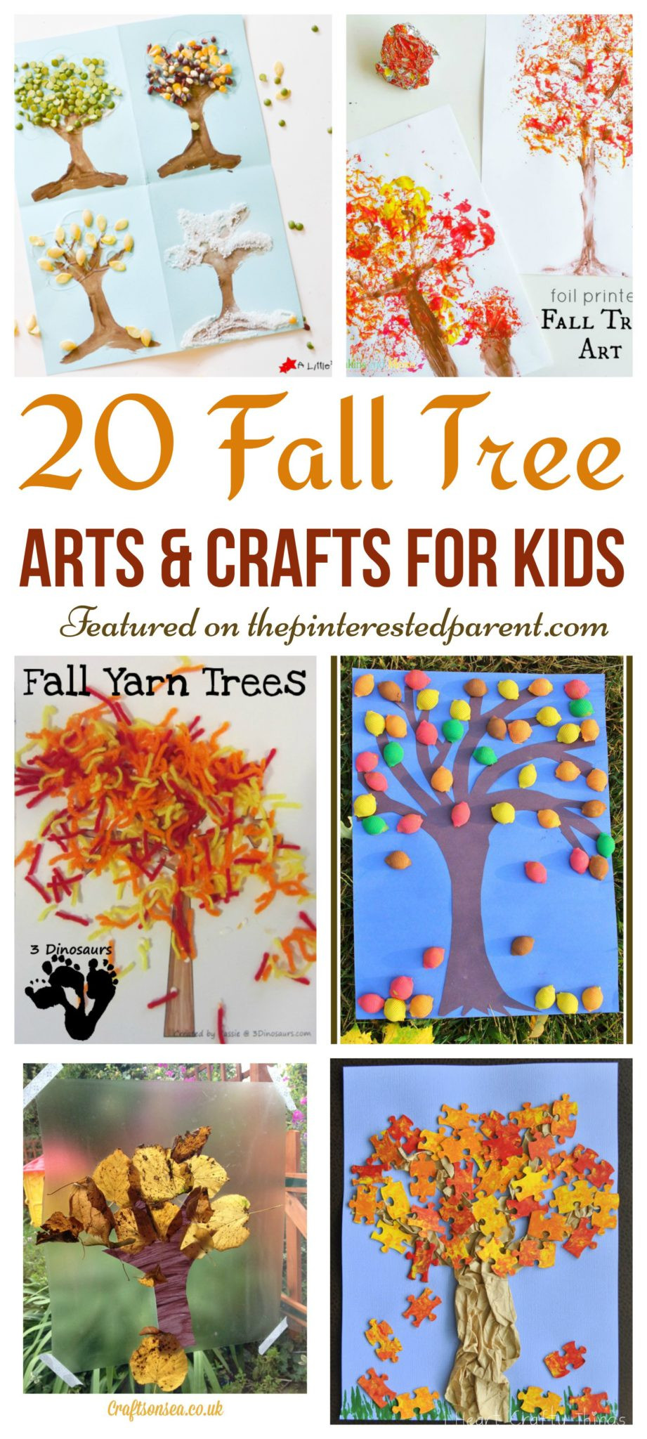 Fall Toddler Craft Ideas  20 Fall Tree Arts & Crafts Ideas For Kids – The