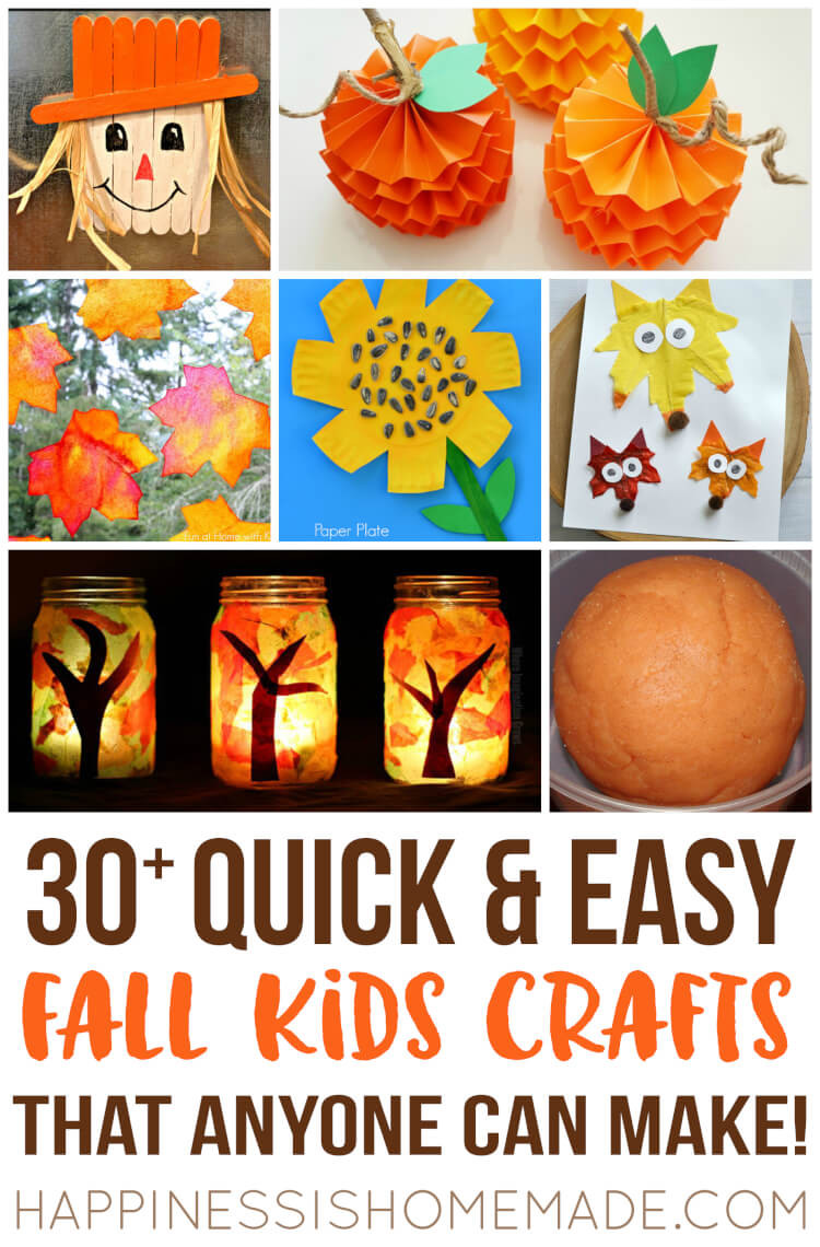 Fall Toddler Craft Ideas  Easy Christmas Kids Crafts that Anyone Can Make