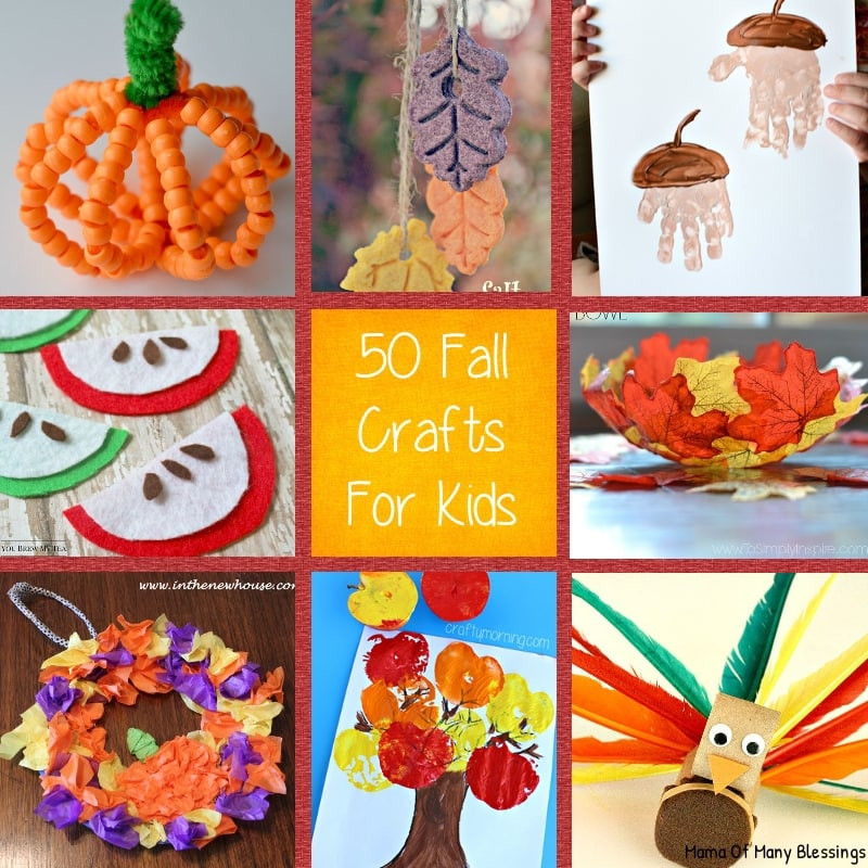 Fall Toddler Craft Ideas  kids craft ideas for fall that are awesome quick and easy