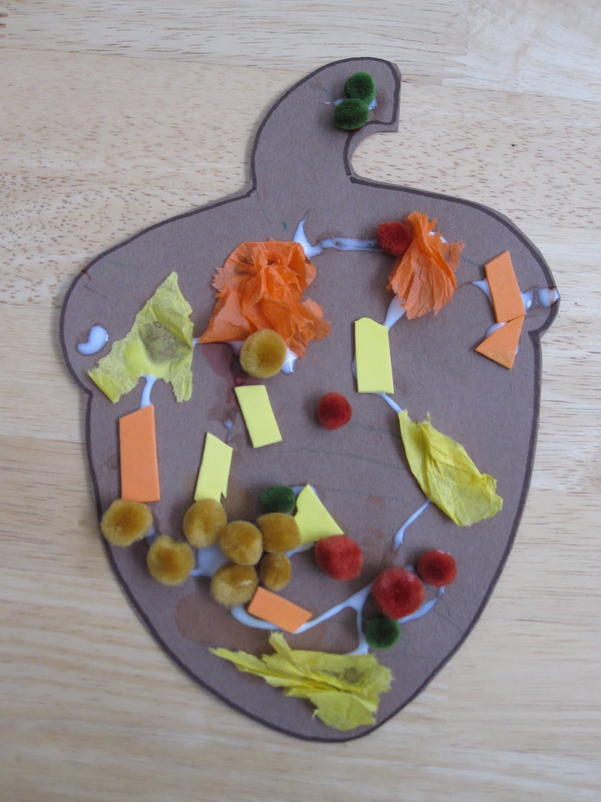 Fall Toddler Craft Ideas  Toddler Approved Easy Peasy Fall Collages