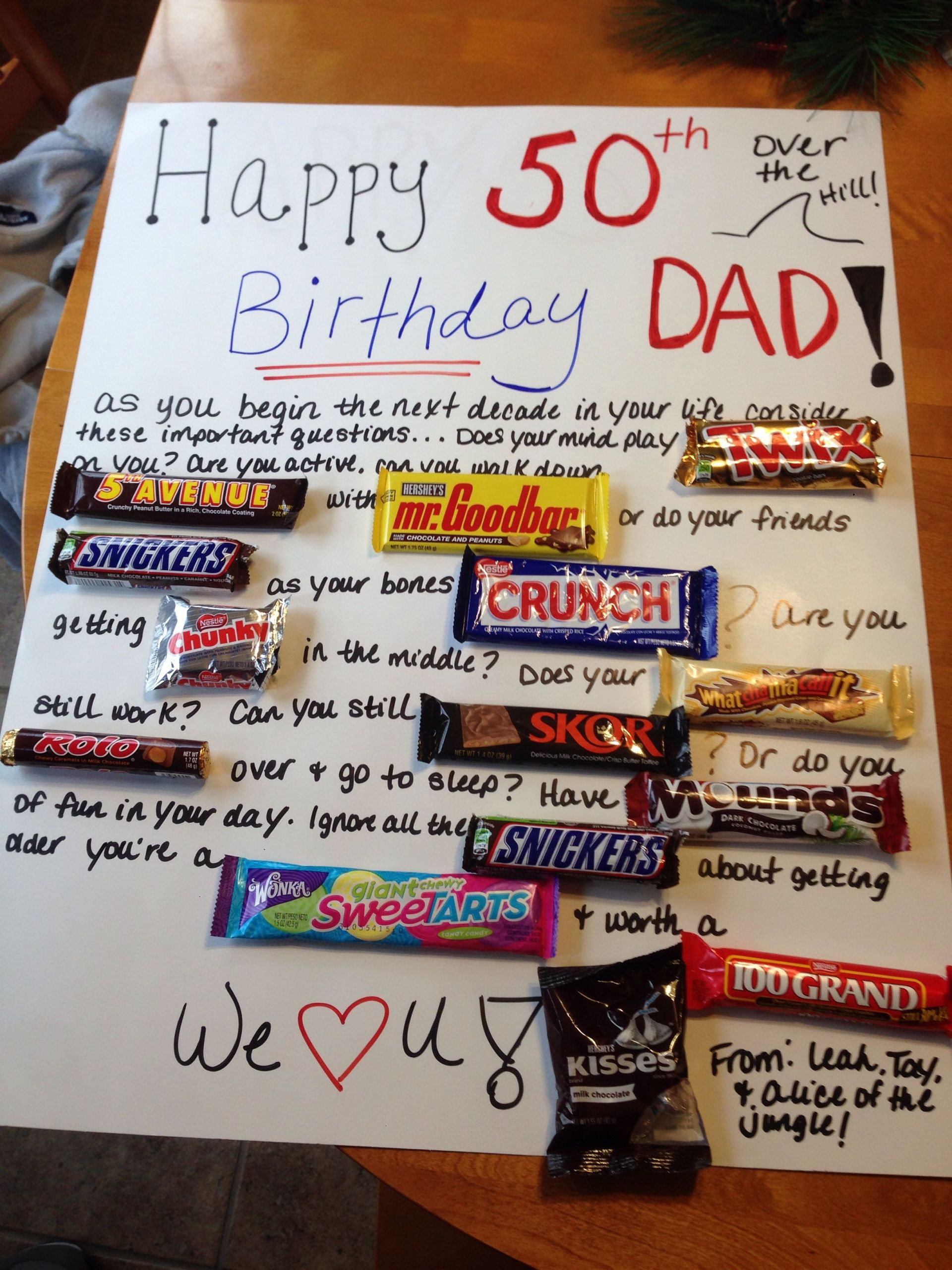 Fifty Birthday Gift Ideas  50th Birthday Gift Ideas For Uncle