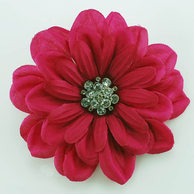 Flower Pins  Artificial Flower Brooch