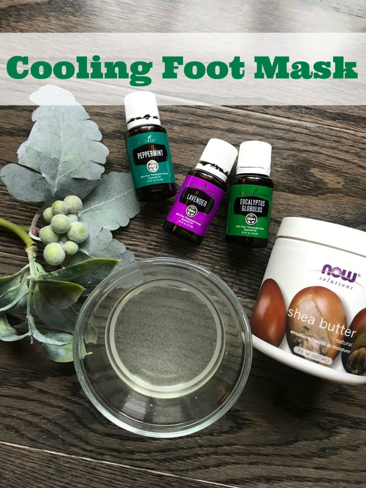 Foot Mask DIY  Homemade Foot Mask Recipe Quick and Easy