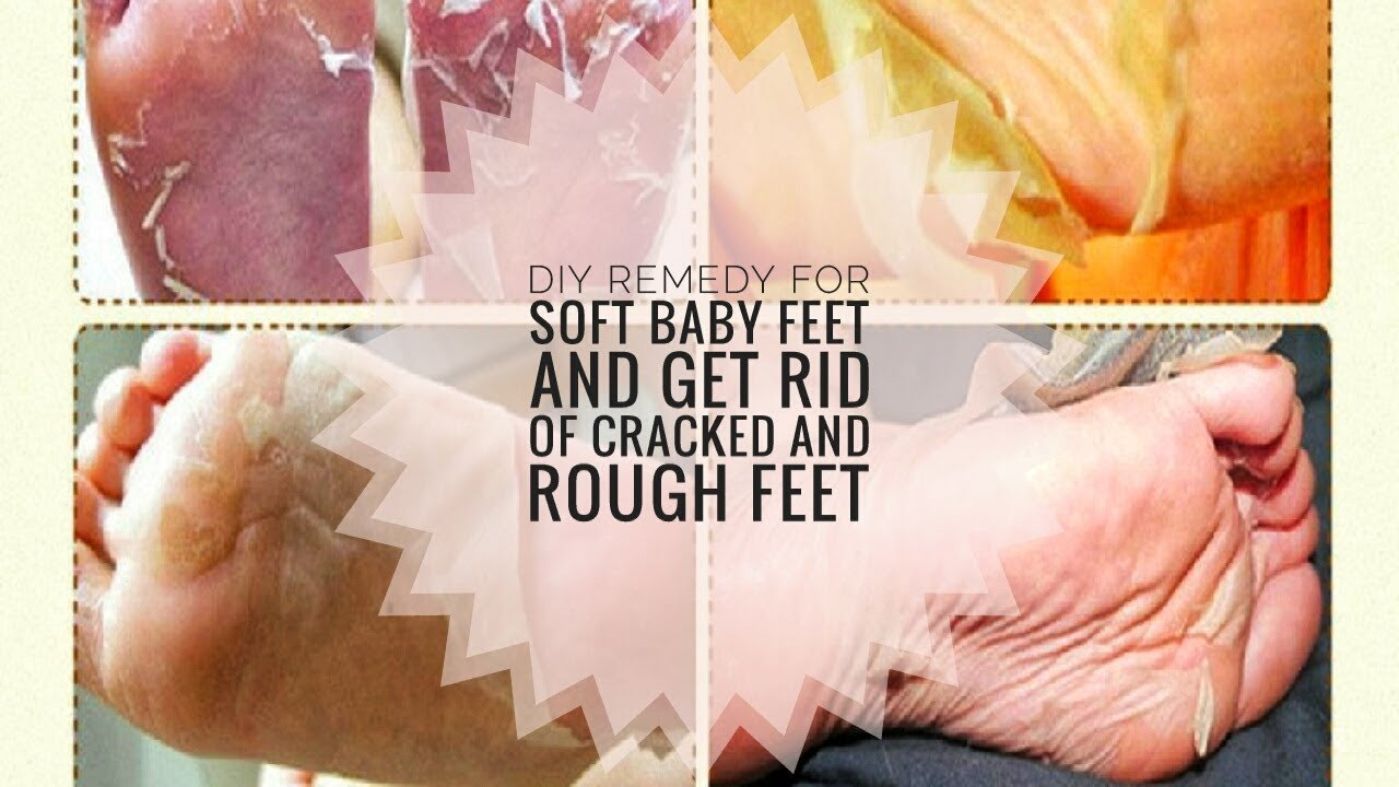 Foot Mask DIY  CHEAP DIY FOOT MASK PEEL FOR SOFT BABY FEET AND GET RID OF