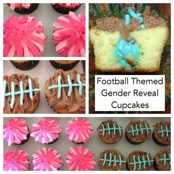 Football Themed Gender Reveal Party Ideas  Pinterest • The world's catalog of ideas