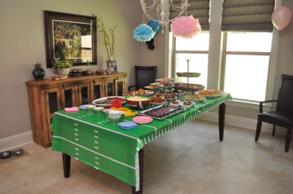 Football Themed Gender Reveal Party Ideas  Football Themed Gender Reveal Party Northshore Parent