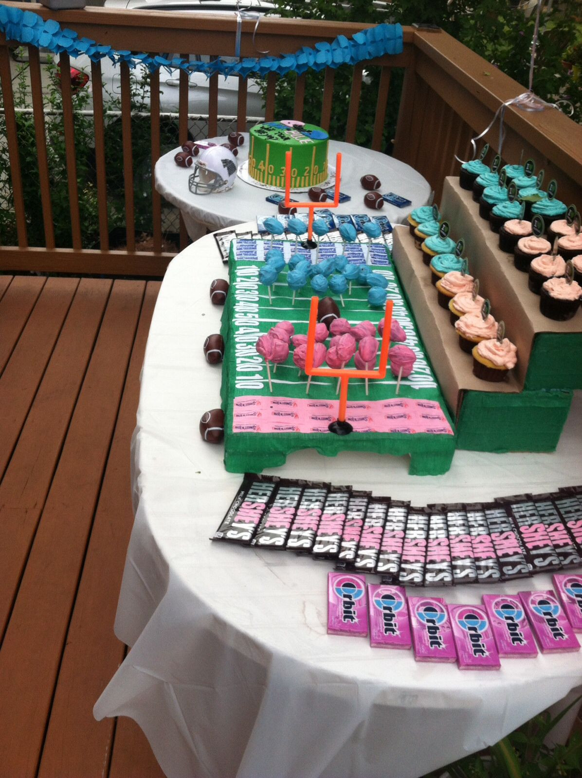 Football Themed Gender Reveal Party Ideas  The 20 Best Ideas for Football themed Gender Reveal Party