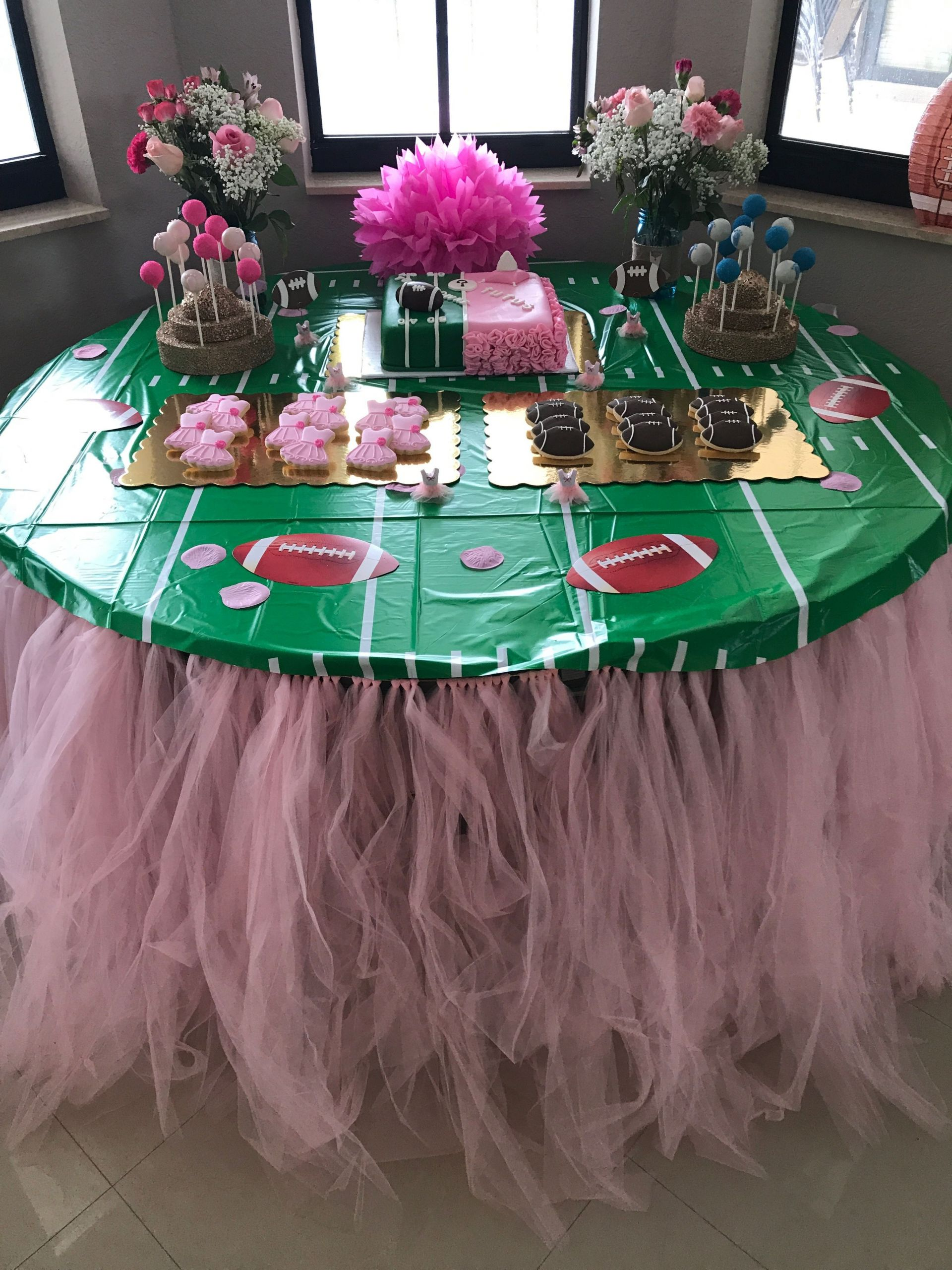 Football Themed Gender Reveal Party Ideas  Now or free throw gender reveal