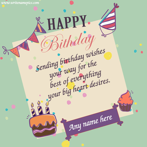 Free Download Birthday Wishes  happy birthday wishes cards with name images for free