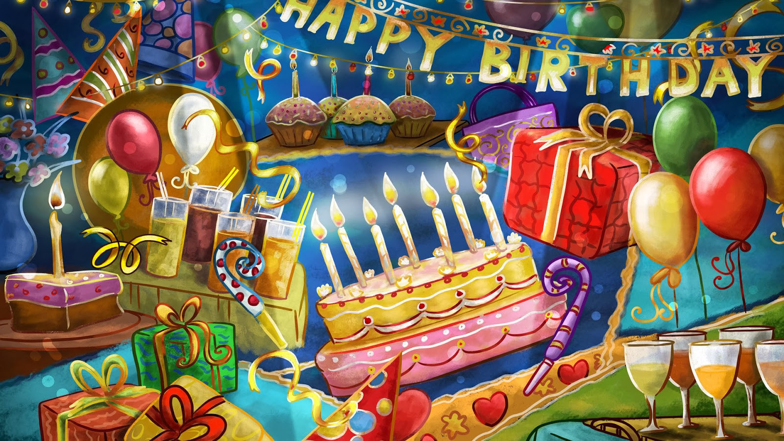 Free Download Birthday Wishes  Lovable Happy Birthday Greetings free
