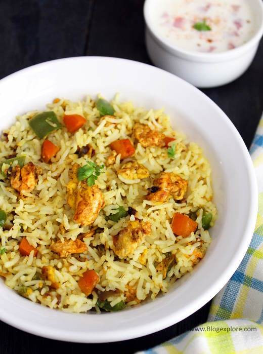 Fried Rice Recipe Indian  egg fried rice indian style easy egg fried rice Indian