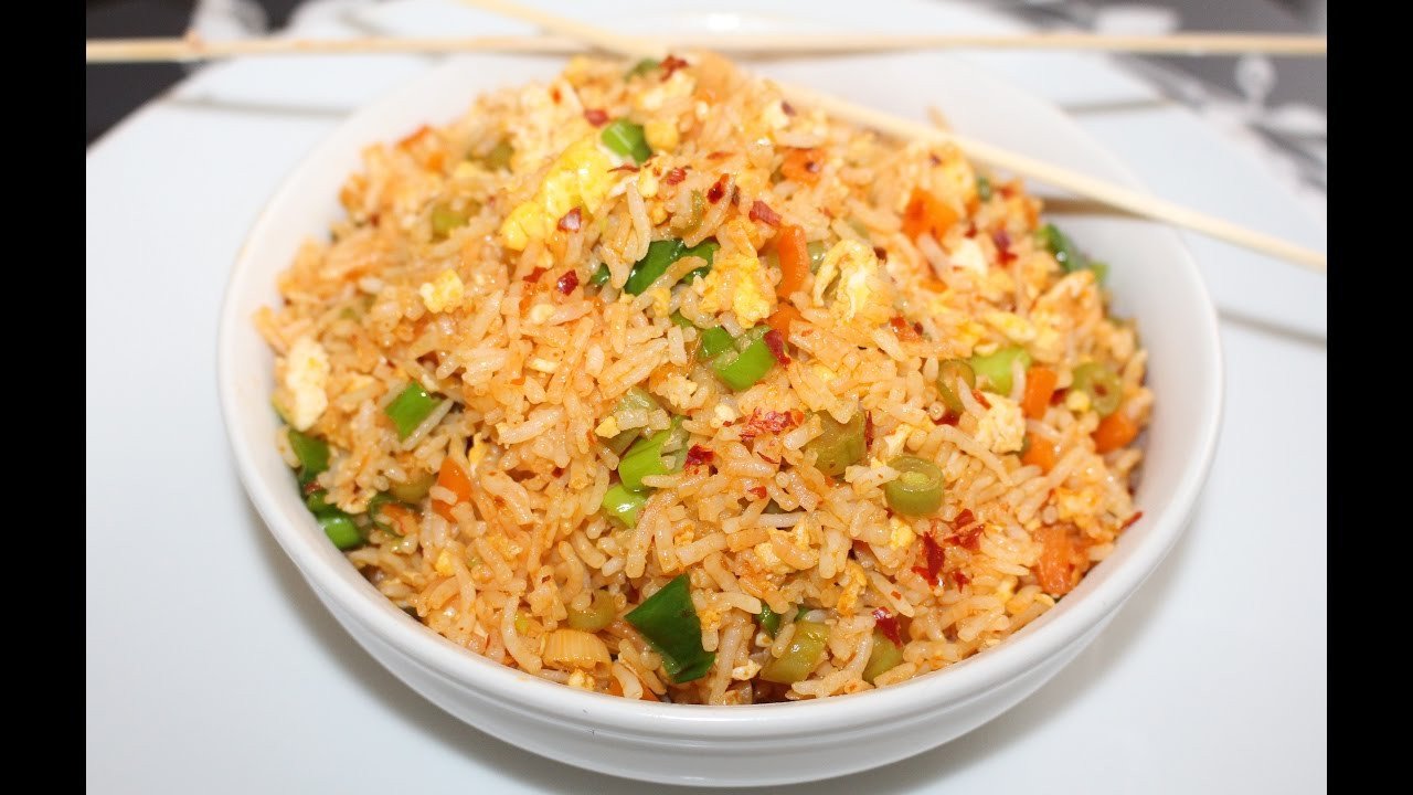 Fried Rice Recipe Indian  Egg Fried Rice Indian Style Egg Fried Rice Recipe Know The