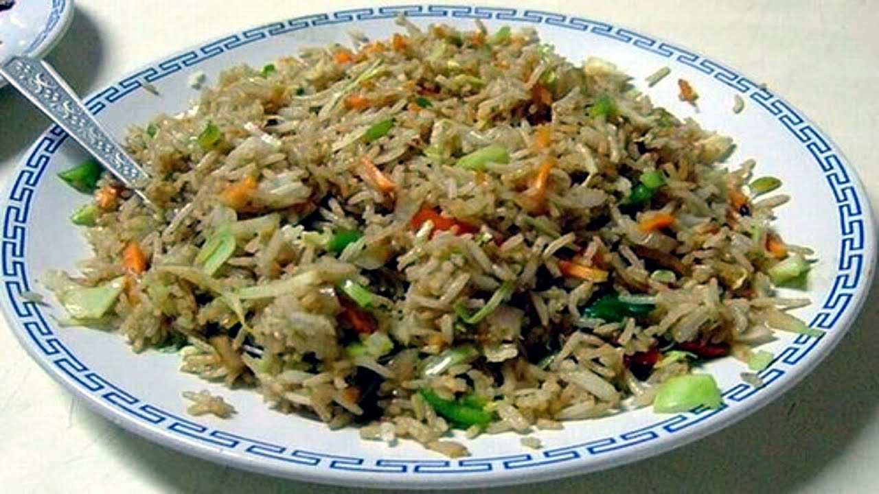 Fried Rice Recipe Indian  Fried Rice South Indian Recipe
